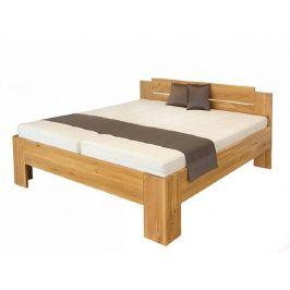 Masivní dvoulůžková postel GRADO