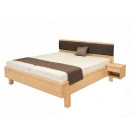 Designová masivní postel GALAXY