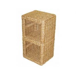 Skříňka 2 úložné prostory-vodní hyacint