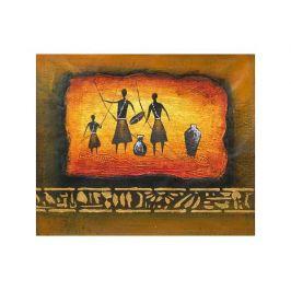 Obraz - Afričtí lovci domorodci