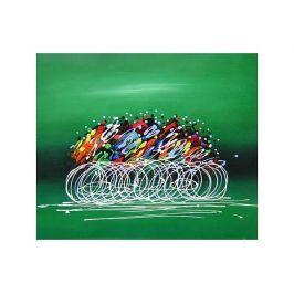 Obraz - Cyklisti Dekorační obraz do bytu