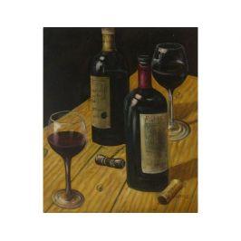 Obraz - Červené víno