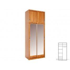 Šatní skříň Irena (se zrcadlem)