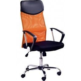Kancelářské křeslo Vire oranžová