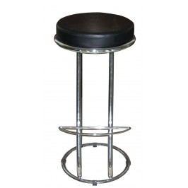 Barová židle Zeta Virgini černá