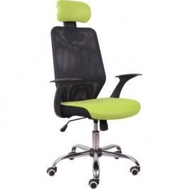 Kancelářské křeslo Reyes černá + zelená