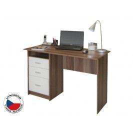 PC stolek Samson Švestka + Bílá