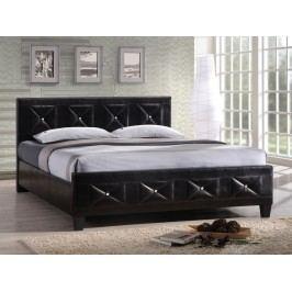Manželská postel 160 cm Carisa (s roštem)