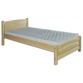 Jednolůžková postel 80 cm LK 125 (masiv)