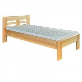 Jednolůžková postel 90 cm LK 160 (buk) (masiv)