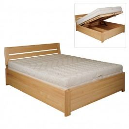 Manželská postel 140 cm LK 195 (buk) (masiv)