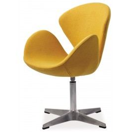 Relaxační křeslo Devon (žlutá)