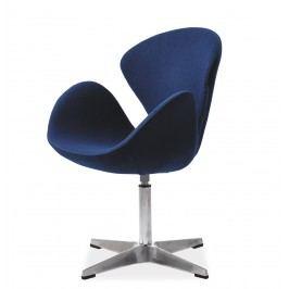Relaxační křeslo Devon (modrá)