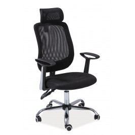 Kancelářské křeslo Q-118 (černá) Kancelářské křeslo