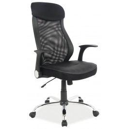 Kancelářské křeslo Q-120 (ekokůže černá)