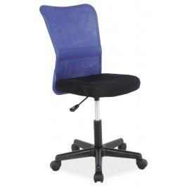 Kancelářské křeslo Q-121 (modrá + černá)