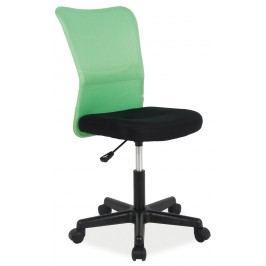 Kancelářské křeslo Q-121 (zelená + černá)