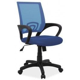 Kancelářské křeslo Q-148 (modrá) Kancelářské křeslo