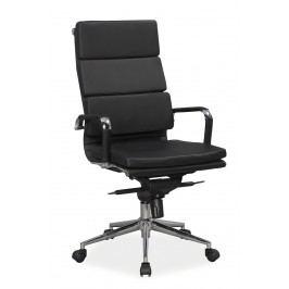Kancelářské křeslo Q-153 (ekokůže černá) Kancelářské křeslo