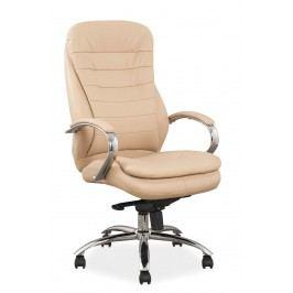 Kancelářské křeslo Q-154 (ekokůže béžová)