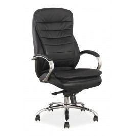 Kancelářské křeslo Q-154 (ekokůže černá)