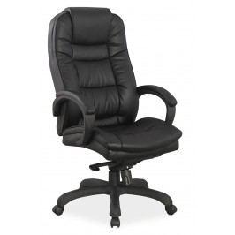 Kancelářské křeslo Q-155 (ekokůže černá)
