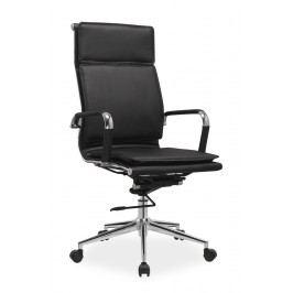 Kancelářské křeslo Q-253 (ekokůže černá)