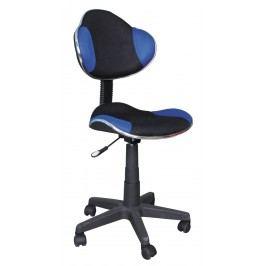 Kancelářské křeslo Q-G2 (modrá + černá)