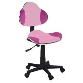 Kancelářské křeslo Q-G2 (růžová)