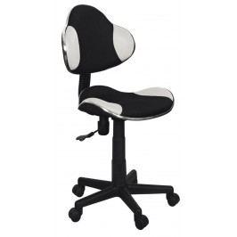Kancelářské křeslo Q-G2 (bílá + černá)