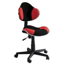 Kancelářské křeslo Q-G2 (červená + černá)