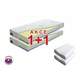 Pěnová matrace Benab Visco Plus 200x90 cm (T3/T4) *AKCE 1+1 + dva polštáře zdarma