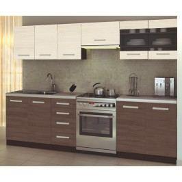Kuchyně Amanda 2 260 cm Kuchyňská linky