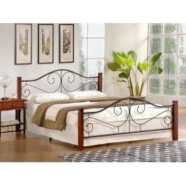 Manželská postel 160 cm Violetta (s roštem)