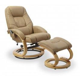 Relaxační křeslo Matador (béžová)