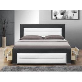 Manželská postel 160 cm Nazuka (s roštem) *masážní přístroj ZDARMA