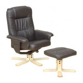 Relaxační křeslo Eddie TC3-514 černá