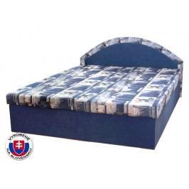 Manželská postel 160 cm Edo 7 (s pružinovou matrací)