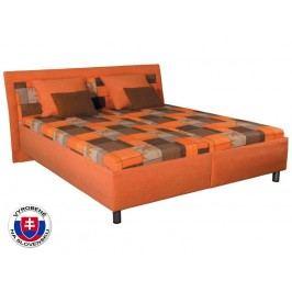 Manželská postel 180 cm Zoja (s molitanovou matrací)