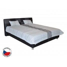 Manželská postel 180 cm Blanár Nice (černá) (s roštem)
