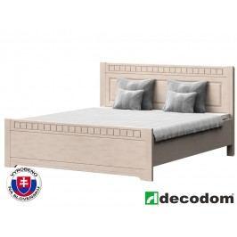 Manželská postel 180 cm Decodom Lirot Typ P-180 (vanilka patina)