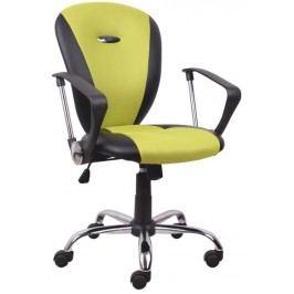 Kancelářské křeslo Tabarez 1513 žlutá + černá