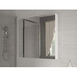 Koupelnová skříňka na stěnu Della 100 bílá + zrcadlo