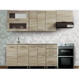 Kuchyně Antonio 240 cm dub sonoma