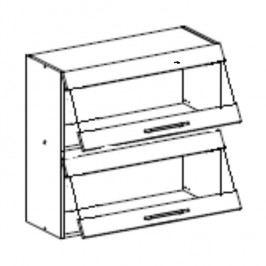 Horní kuchyňská skříňka Fabiana W-80 K2S