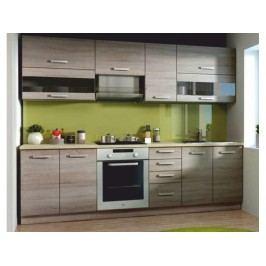 Kuchyně Kalen 260 cm (dub sonoma trufel)