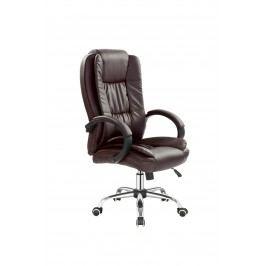 Kancelářské křeslo Relax (tmavěhnědá)