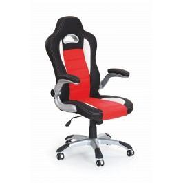 Kancelářské křeslo Lotus (černá + červená)