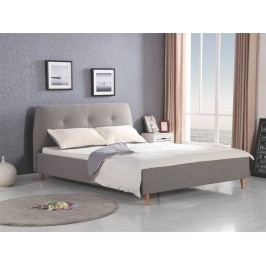 Manželská postel 160 cm Doris (s roštem)