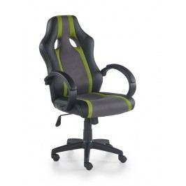 Kancelářské křeslo Radix (šedá + zelená)